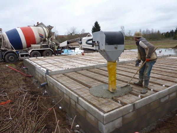 Suite du vide sanitaire blog de notre maison phenix for Construction sans vide sanitaire