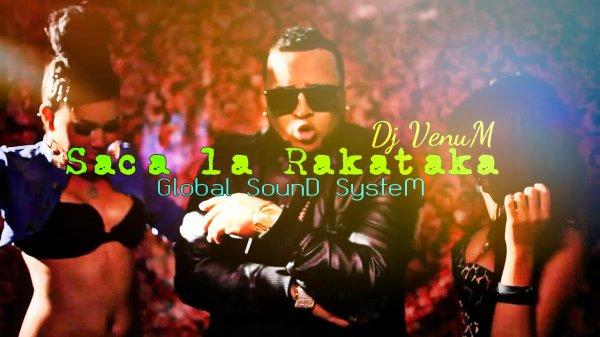 VOL 4 / DJ VENUM-SACA LA RAKATAKA 2014 G.S.S ( 4 OF STEEL FM'LY) (2014)