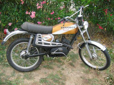 peugeot sx5 trail de 1978 le motard. Black Bedroom Furniture Sets. Home Design Ideas