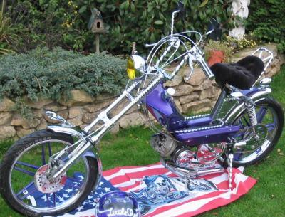 peugeot 103 sp chopper le motard. Black Bedroom Furniture Sets. Home Design Ideas