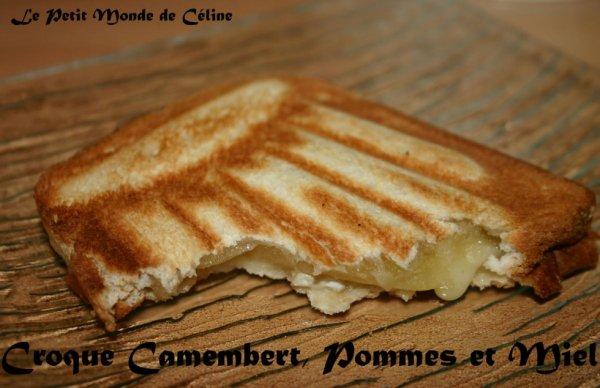 croque camembert pommes et miel blog de mumu7271. Black Bedroom Furniture Sets. Home Design Ideas
