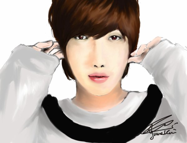 Jung Yong Hwa of CNBLUE / Drawing by YumeKim
