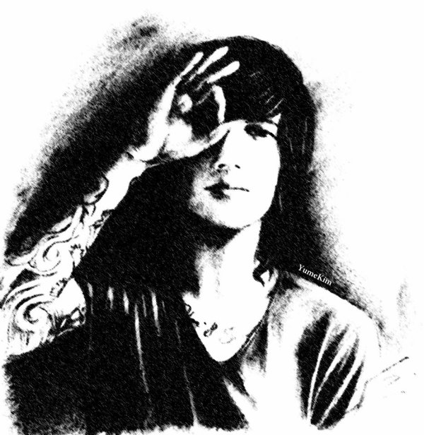 Kellin Quinn from SLEEPING WITH SIRENS / Drawing by Yume Kim