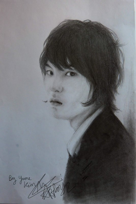 Lee Jong Hyun of CNBLUE / Drawing by YumeKim