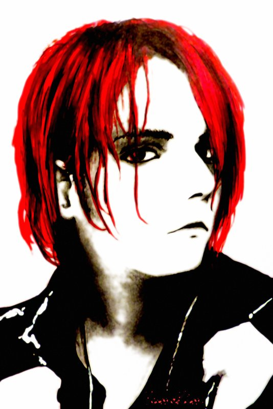 Gerard Way of MY CHEMICAL ROMANCE / Drawing by YumeKim