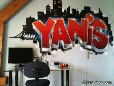 Articles de harddeco tagg s tag chambre ado d coration graffiti - Tag pour chambre ado ...