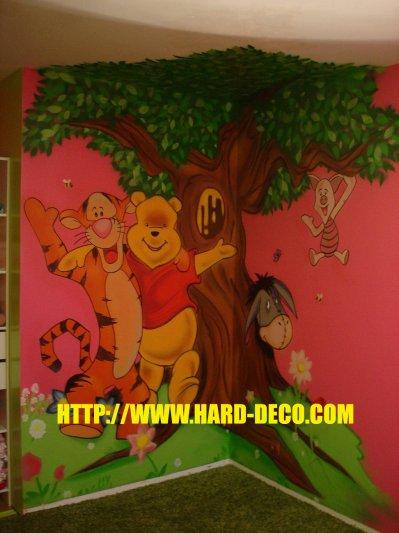 graffiti decoration murale chambre bebe sur. Black Bedroom Furniture Sets. Home Design Ideas