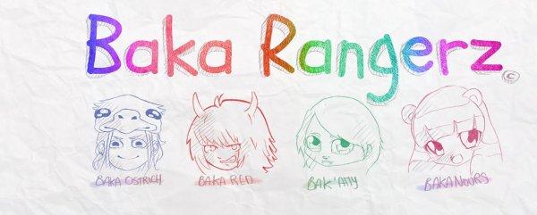 Fanzine Baka Rangerz et page Fb!