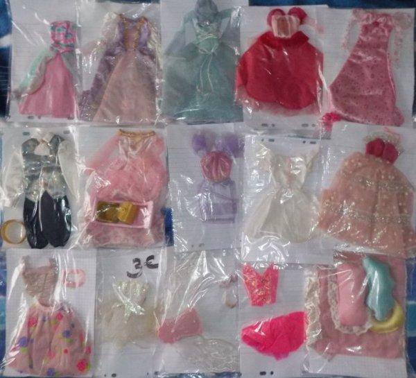 V�tements Barbie et autres � vendre ou � �changer