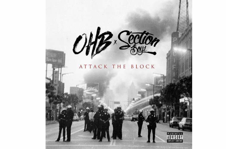 Mixtape OHB,Chris Brown X Section Boyz 'Attack The Blcok' en téléchargement