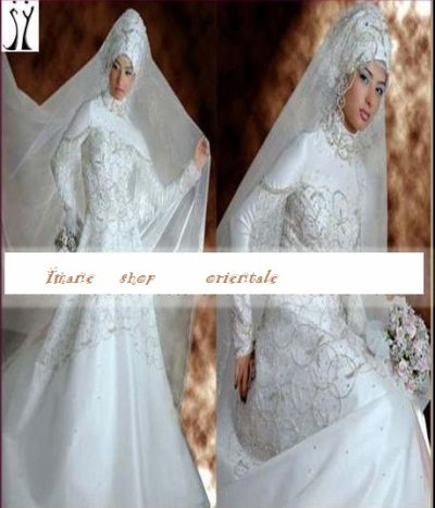 Robe de mariée hijab - Blog de imane-mariage