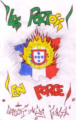Ma vie mes amis mes kiffs repr sente - Dessin portugal ...