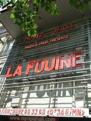 (Compte rendu)Le concert Skyrock de La Fouine � L'olympia ce 20 Mai
