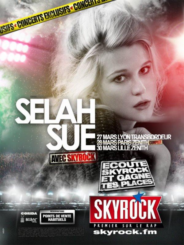 Selah Sue au Zénith avec Skyrock