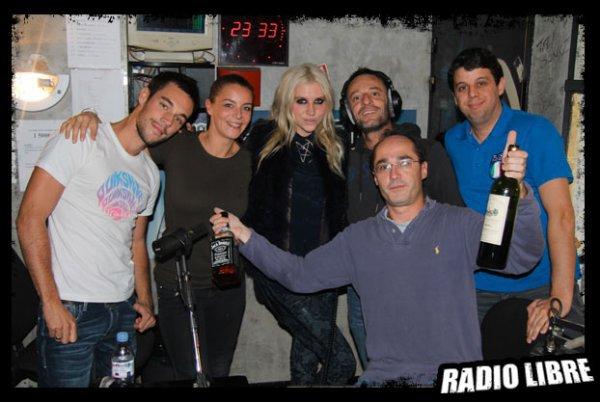 Ke$ha dans La Radio Libre