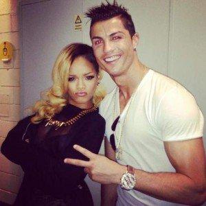 Rihanna et Cristiano Ronaldo