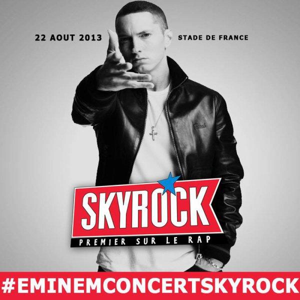 Eminem au Stade De France