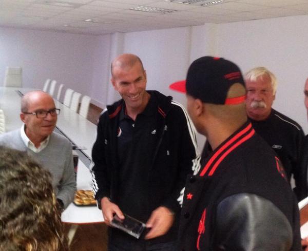 Rohff rencontre Zidane