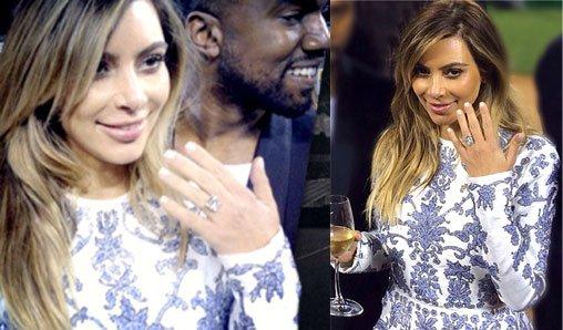 Kanye West se marie avec Kim Kardashian