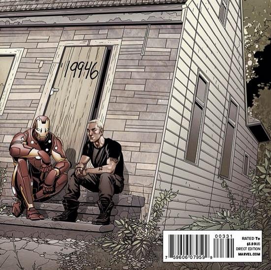 Eminem avec Iron Man