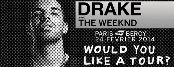 DRAKE - DATE SUPPLEMENTAIRE A BERCY