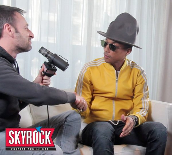 Interview Difool x Pharrell Williams sur Skyrock