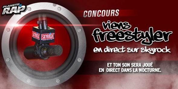Concours Freestyle - Plan�te Rap