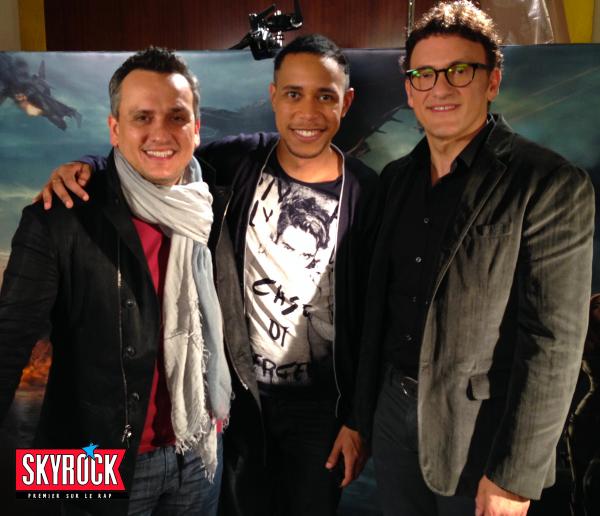 Captain America, l'interview Skyrock!