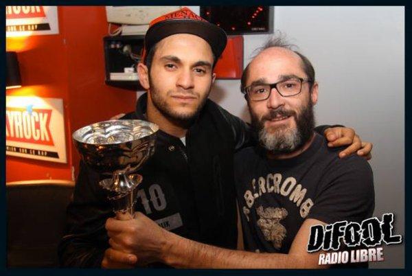Romano avec Malik Bentalha après le Clash De La Drague !