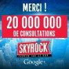 + de 20 000 000 de consultations sur notre page G+ = 1ère page Radio