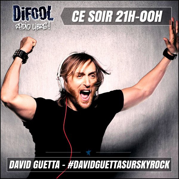 Ce soir Difool re�oit David Guetta !