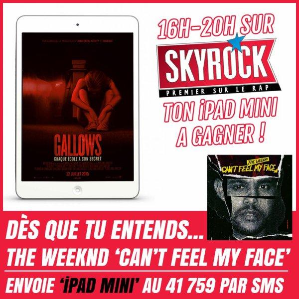 Gagne ton iPad Mini avec le film Galllows !