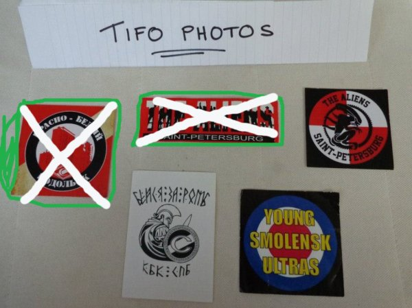 Stickers Russia