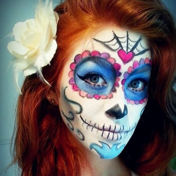 Make up Halloween : sugar skull