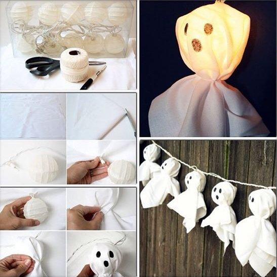DIY Halloween : Les fantômes !