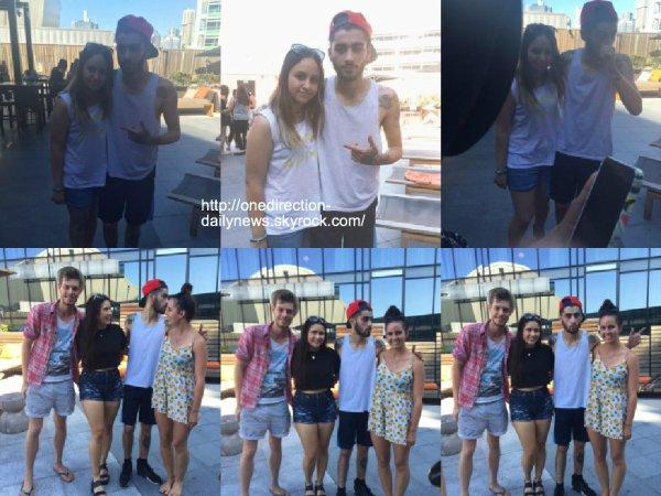 6 f�vrier 2015 : Les gars ont �t� vus au Stade � Sydney