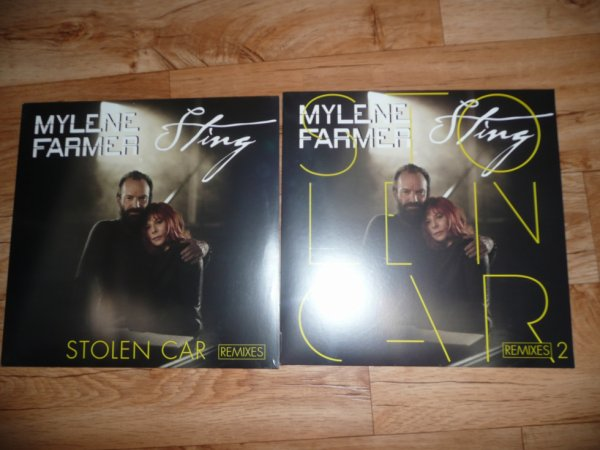 Stolen Car Maxi 45 Tours Remixes