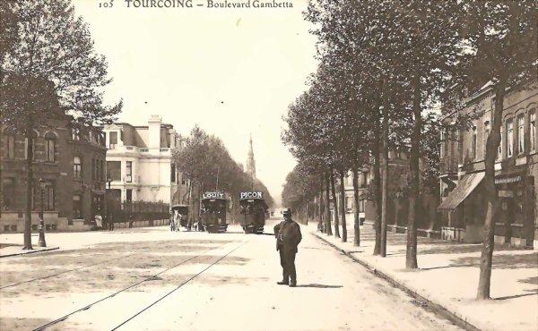 Boulevard gambetta tourcoing ma ville mon quartier la marliere - Boulevard gambetta roubaix ...