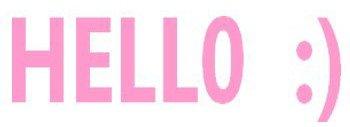 Hello =D