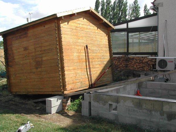 d placement cabane de jardin suite ma piscine waterair sa construction de a z. Black Bedroom Furniture Sets. Home Design Ideas