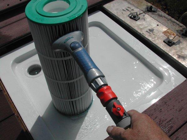 Nettoyage chimique des cartouches ma piscine waterair sa for Cartouche waterair