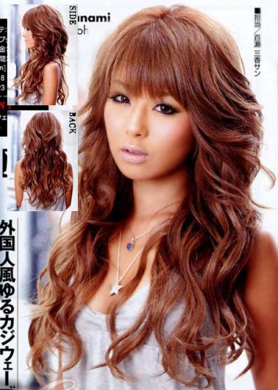 Coiffure Femme Japonaise