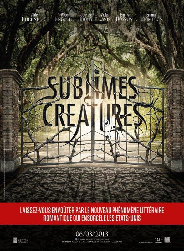 Sublimes Créatures : l'affiche et la bande-annonce française !