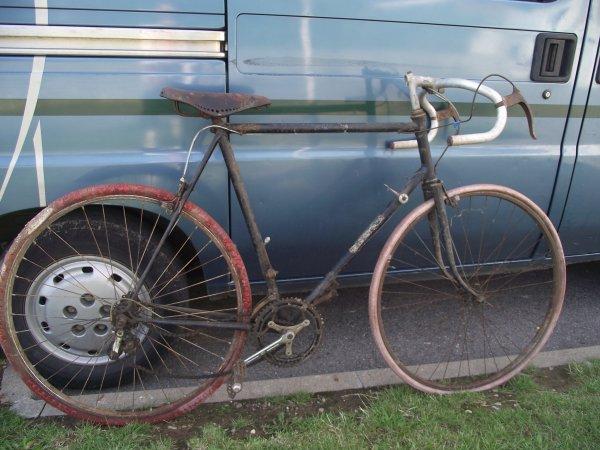 V lo de course bazou 1950 les velos d 39 hier - Velo ou tapis de course pour maigrir ...