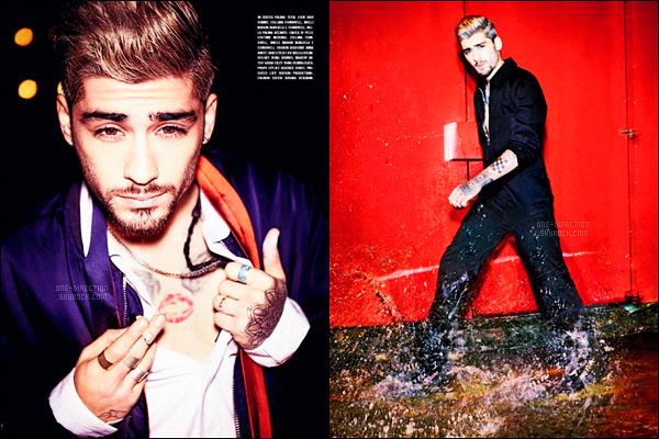 ▬ Zayn poursuit sa promotion en donnant, cette fois-ci, une interview au magazine italien � Uomo Vogue � Dans cette interview, Zayn se confie encore � propos de son d�part du groupe One Direction. Il confie qu'il n'a pas eu de nouvelles des gar�ons..