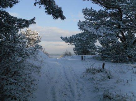 Abschied von der winterlichen Ostsee