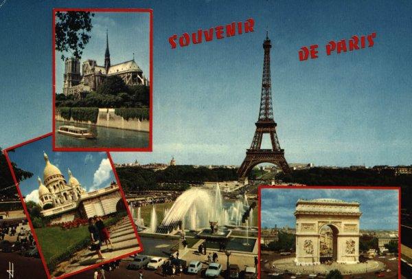 Erste Grüße aus Paris / Spruch der Woche