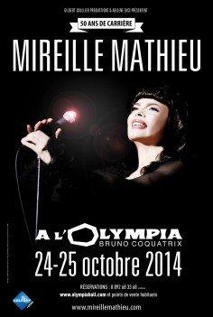 Mireille Mathieu  im Pariser Olympia