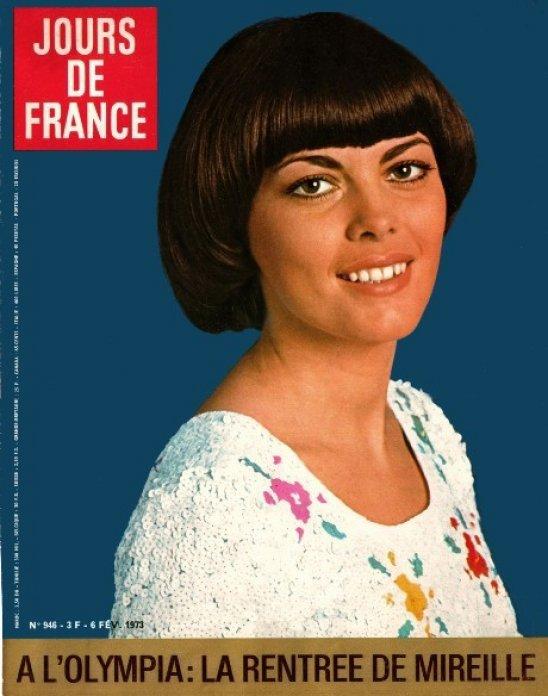 Neu gestaltete Homepage von Mireille Mathieu
