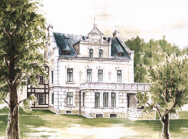 Villa Nerchau  / Spruch der Woche
